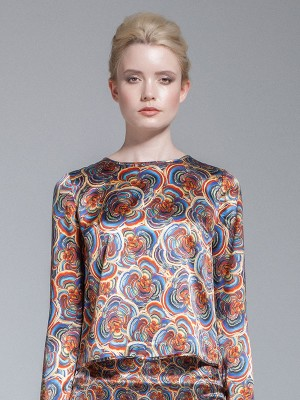 Millie and Elizabeth - Arliyah Print Top