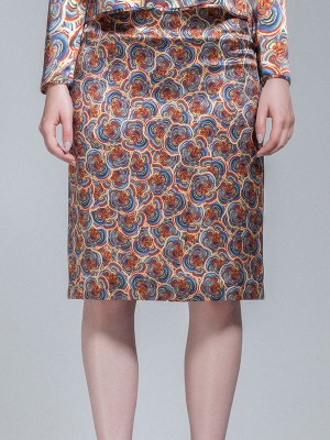 Millie and Elizabeth - Zarah Floral Print Skirt